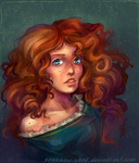 Brave: princess Merida by sparrow-chan