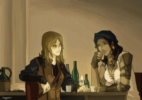 Drinking Rogues - Commission by RebelATS