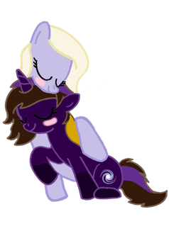All The Cuddles [Commission] by lawleyj77