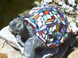Colorful turtle by DarkChasmWolf