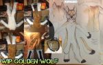Golden Wolf Fullsuit WIP by Yuki-Moon