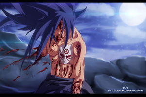 Naruto 658 - Madara by the103orjagrat