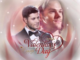Happy Supernatural Valentine's Day (version 1) by Nadin7Angel