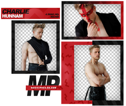 PACK PNG 933| CHARLIE HUNNAM by MAGIC-PNGS