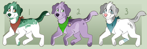Canine Adopt Auction (Closed) by HP-Adopts