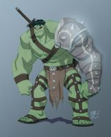 World War Hulk by EricGuzman