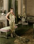Gloria Swanson at home by ZeldaveNash