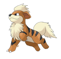 Caninos - Growlithe by AlouNea