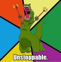 Unstoppable! by Supercurlyninja