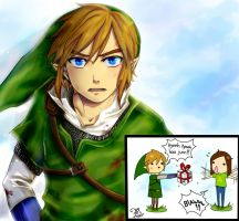 Link- Gift by kalisami
