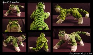 Tiger Spirit Puppet by LittleTiger488