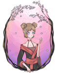 c: Sora and the cherry blossom by MissZas