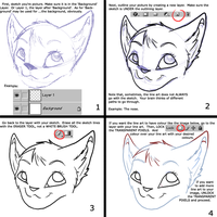 Lineart In Photoshop Tutorial by Xyiru
