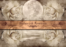 Pack Backgrounds -  Rosas Nocturnas by ROSASINMAS