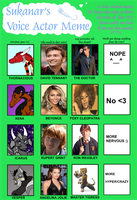 VOICE ACTOR MEME by Thornacious