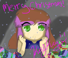 Merry Christmas by ghostamy101