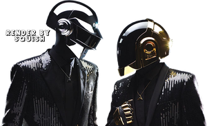 Daft Punk Render by SquishFX