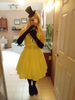 Fem!Bill Cipher cosplay (3/5) by Colette123