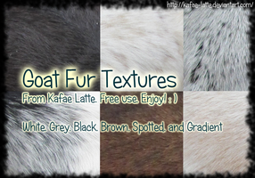 Goat Fur Texture Pack by Kafae-Latte