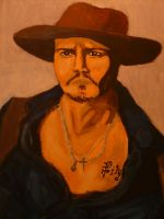 Gansta Johnny Depp by ville2me