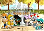 By The Fountain by JimmyCartoonist