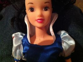 Better view of my first Snow White Doll by SweetHea