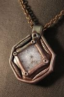 Dwarven Pendant-close up by LorienAccessories