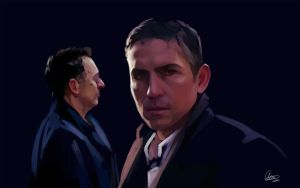 We're at war... Person of Interest WIP by Syllirium