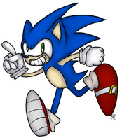 SONIC by Aquillic-Tiger