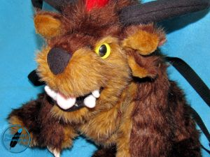 Charr Backpack Plush_face details by Highwinds2C