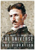 Nikola Tesla Tribute #1 by mickehill