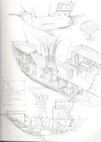 flying ship plans by enguerrand
