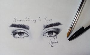 Lauren Jauregui's Eyes by AnabelParejo