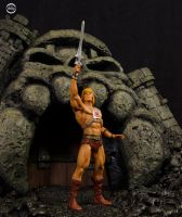 Grayskull Castle Scale Maquette 01 by ddgcom