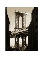 Manhattan Bridge with ESB by Jorlin