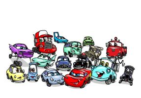 Lil Cars by Nevuela