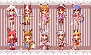 Adoptables (OPEN) by FlaaffyShop