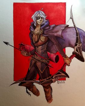 Illustration// Niles from Fire Emblem by tguillot