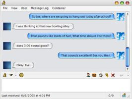 iChat for MirandaIM by PowerProductions
