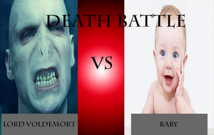 Death Battle: Voldemort vs a baby by GodofGreed18