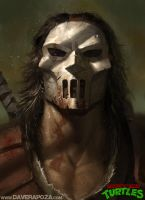 Casey Jones by DavidRapozaArt
