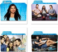 The Mindy Project Folder Icons by nellanel
