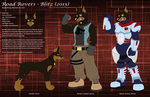 Road Rovers - Blitz (2015) Character Sheet by 6spiritking