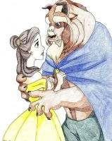 Beauty and the Beast by Kelly-ART