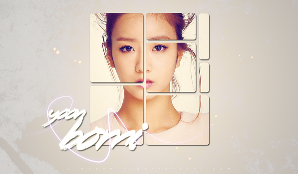 APink's wallpaper (Bomi) by kimyounin