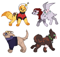 Dog Adopts | AUCTION | OPEN by gunsweat