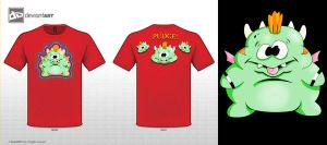 Pudge  shirt by 71ADL17