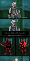 Being Invaded in Dark Souls by BlacknBlueBrony