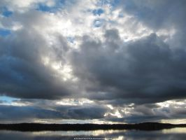 Clouds Over the Lake by TommyRotten