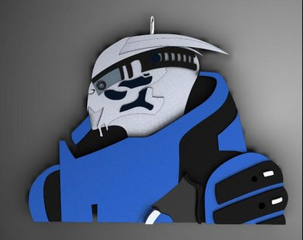 Garrus Vakarian - N7 Collection by LotyLauda